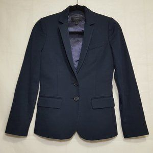 J Crew Womens Thompson blazer navy size 00